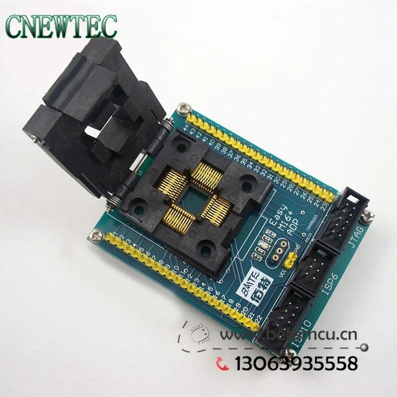 AVR ATmega16//32 QFP44 TQFP IC51-0444-467 IC MCU Socket Program Adapter Yamaichi