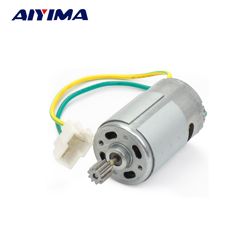 AIYIMA 1Pc Motor DC 6V For Electric Vehicle RS550 14000rpm