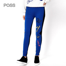 PASS 2017 New Arrival Women Winter Legging Casual Slim Letter Printed Legging Female Elasticity Leggings