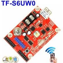 TF-S6UW0 wifi светодиодный блок управления 1280*16 пикселей одиночный, двойной цветной беспроводной модуль светодиодный привод p10, p13.33, p16, f3.75 поддержка