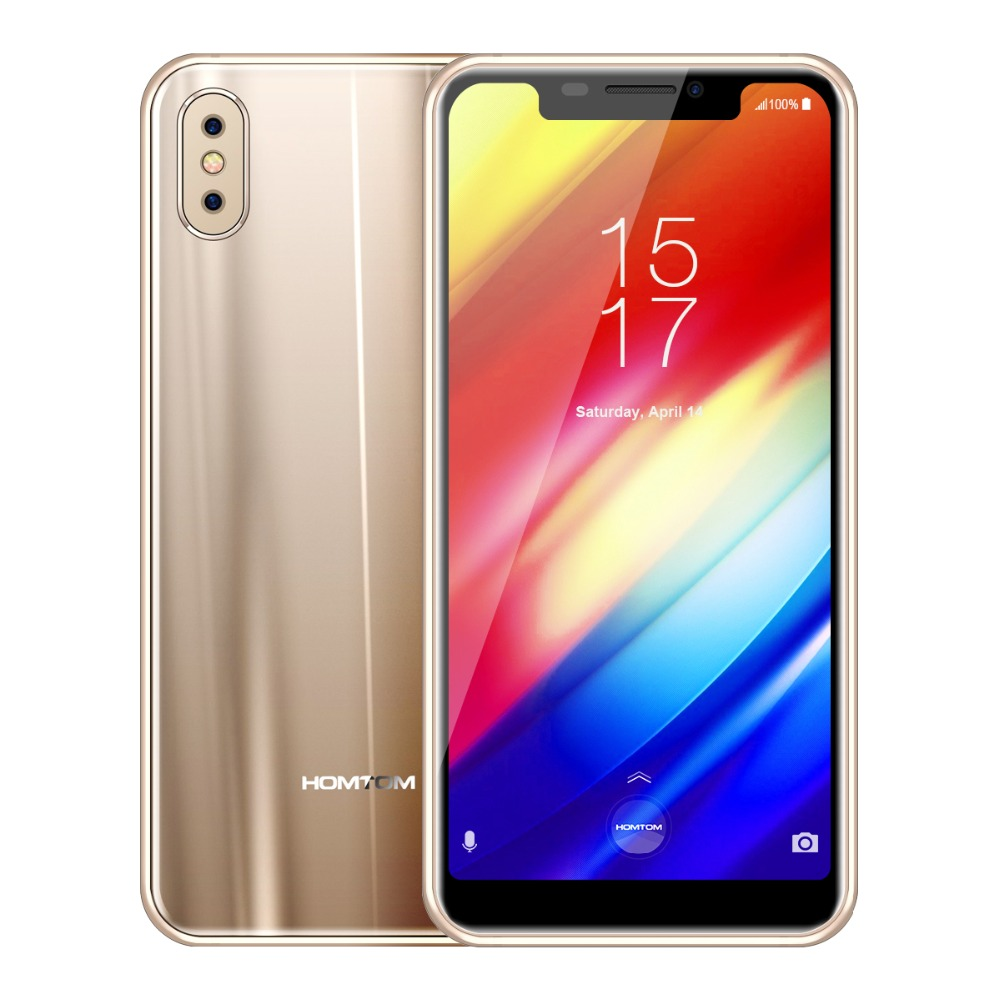Homtom H10 MTK6750T 1,5 ghz Octa Core 4 gb RAM 64 gb ROM Handy 5,85 zoll 3500 mah Android 8.1 dual Kamera 4g LTE Smartphone - 5