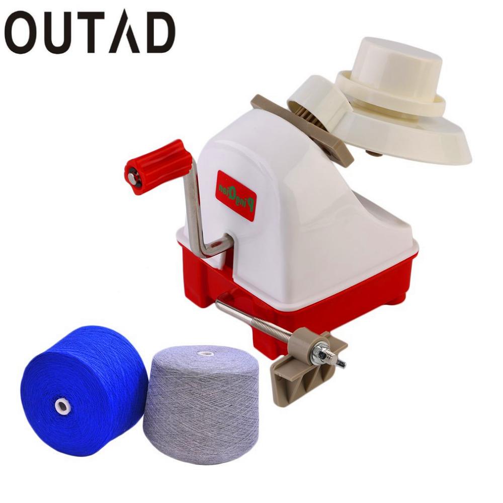OUTAD Portable Hand Operated Yarn Winder Fiber Wool String Thread Skein Ball Sewing Machine Tool Accessory Drop Shipping