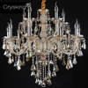 Top Luxury Free Shipping 6 Arms Luxury Crystal Chandelier Lustre Light Home Decor With 100 K9