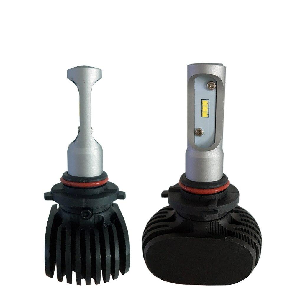 2pc 9005 avtomobil fənər lampaları HB3 Auto Led lampa 50W 6500K - Avtomobil işıqları - Fotoqrafiya 3