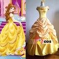Trajes de halloween para as mulheres princesa traje mulheres adulto princesa belle traje de a bela ea fera cosplay fancy dress