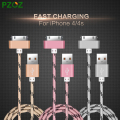 PZOZ For iphone 4 Cable 30 pin Charger Adapter Original USB Cabel Fast Charger For iphone 4s  iphone 4 s iphone 3GS iPad 2 3