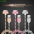 Pzoz para cabo de 30 pinos adaptador de carregador iphone 4 original usb cabel carregador rápido para iphone 4s iphone 4 s iphone 3gs ipad 2 3