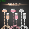 Pzoz para iphone 4 cable de 30 pines adaptador de cargador original usb cabel cargador rápido para iphone 4s iphone 4 s iphone 3gs ipad 2 3
