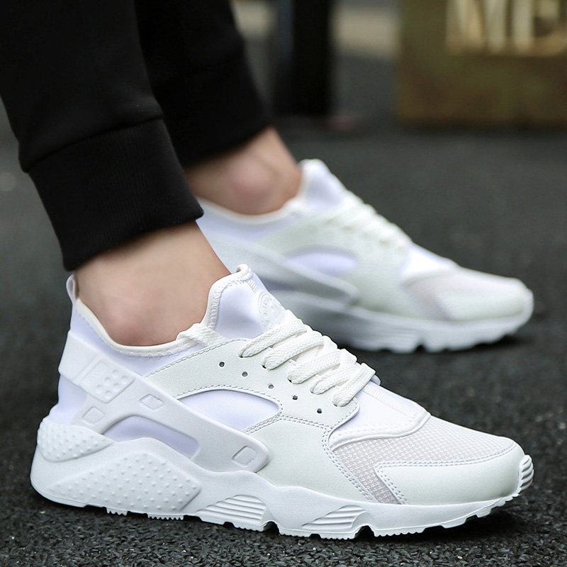 2018 Brand Shoes Man Designer Summer Autumn Male Shoes Tenis Masculino Krasovki White Shoes Breathable Casual Shoes High Quality