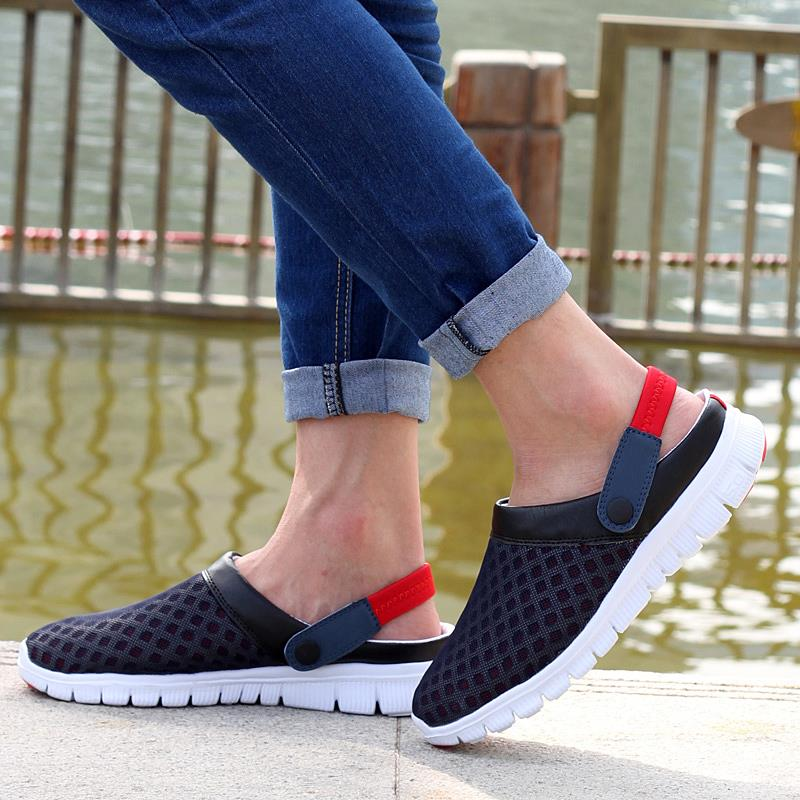 New Brand Men Women Beach Shoes 2015 Summer Fashion Mesh breathable - Kasut lelaki - Foto 6