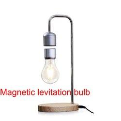 LED المغنطيسى لمبة تحوم اللاسلكية الجدول مصباح الإبداعية هدية سحرية عالية الأسود التكنولوجيا العلوم المهوس مسة يعتم المعرض