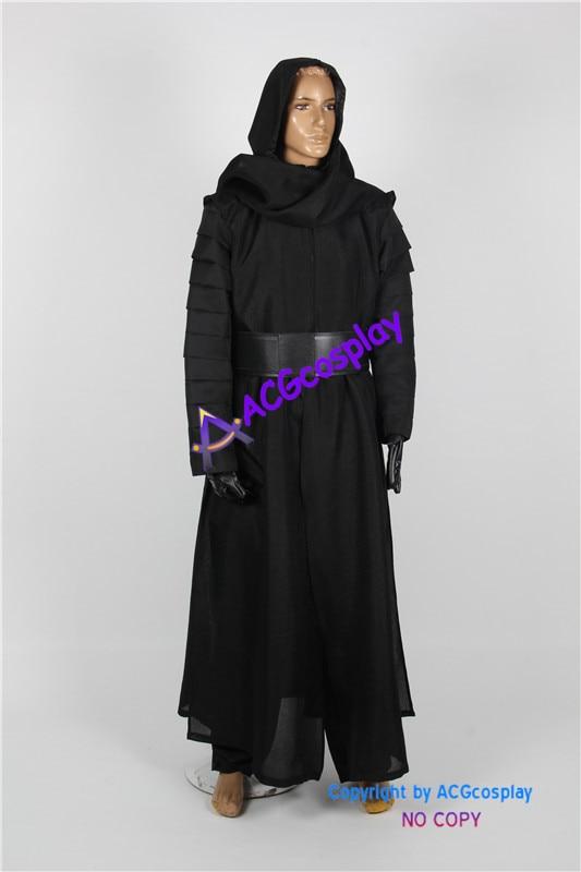 Star Wars Episode VII Kylo Ren Cosplay Costume ACGcosplay custom-made linen-like fabric real shot