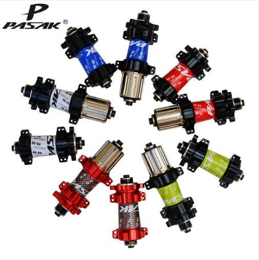 PASAK Bicycle hubs Mountain Bike Disc Brake Drum Front 2 Front 4 Bearings 24 holes стоимость