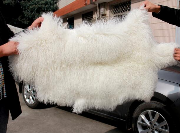 Long Hair Curly Lamb Fur Pelt Mongolian Plate Finished Skin In From Home Garden On Aliexpress Alibaba Group