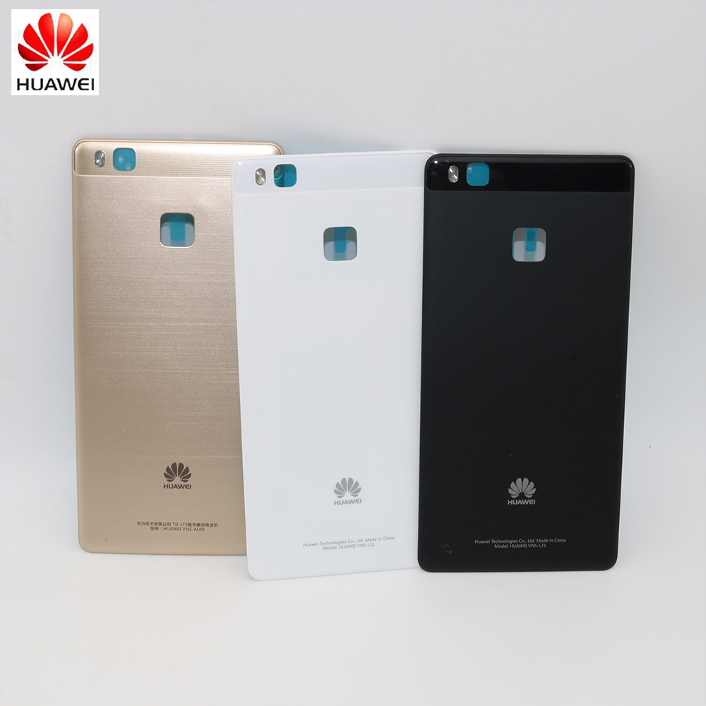 Original Rear Housing Cover For HUAWEI P9 Lite,Spare Part Back Door Replacement Battery Case With Adhensive Sticker