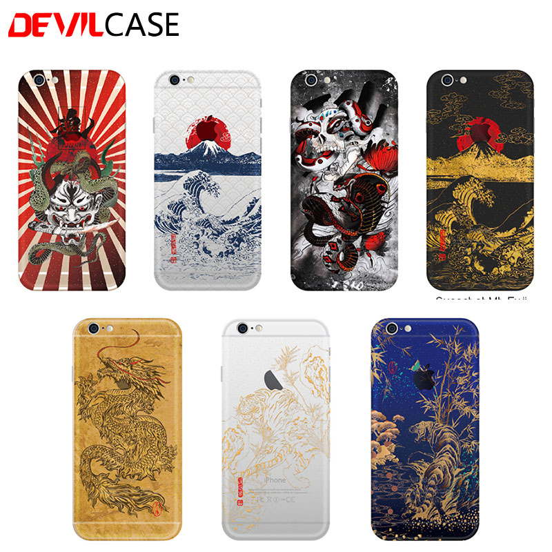Devilcase japanese maki e style back sticker for iphone 5 5s se 6 6s plus fashion back decal cover on aliexpress com alibaba group