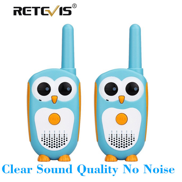 Walkie Talkie Conscientious 2pcs Retevis Rt30 Children Radio Set Civilian Handheld Owl-like Intercom Uhf Kids Toy Pmr License-free Walkie Talkie Gift A Great Variety Of Models