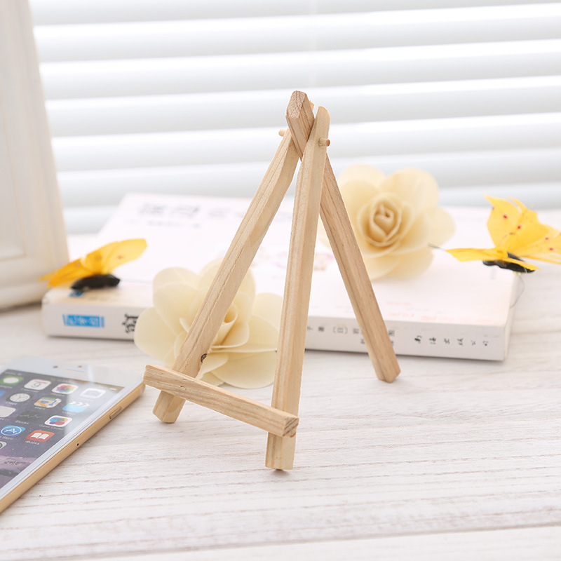 24PC Mini Display Miniature Easel Place Card Name Holder Rustic Wedding Party Favor For Wedding Decoration Event Party Supplies