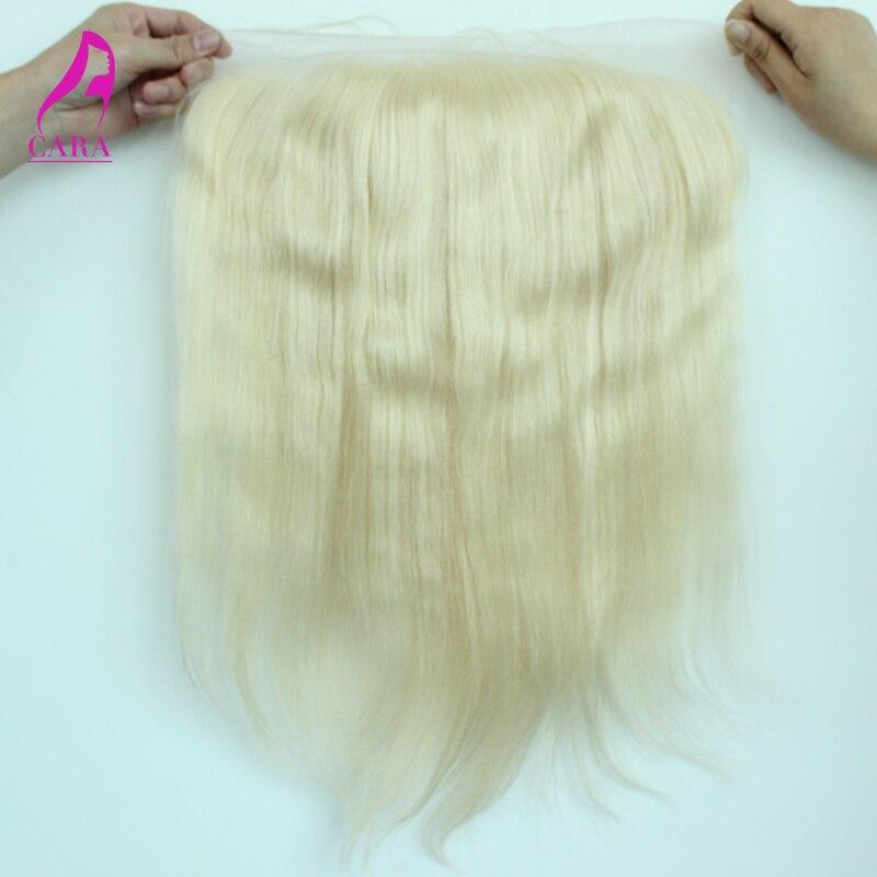 8A #613 Blonde Brazilian Straight Lace Frontal Closure 13x4
