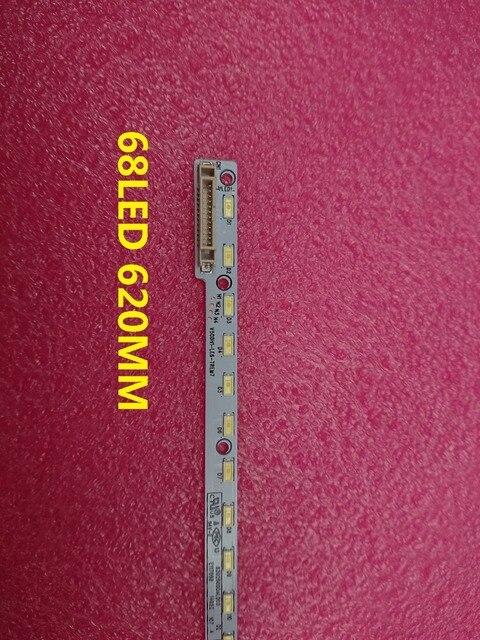 Yeni 1 ADET 68LED 620 MM LED şerit V500H1 LE6 TREM7 için V500HJ1 LE8 LED50M5580AF