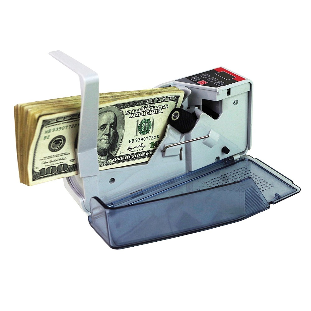 V40 Mini Portable Handy Bill Cash Money All Currency Counter Counting Machine цена