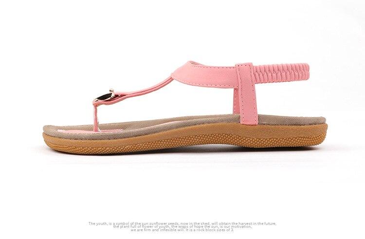 HTB1P mWCN1YBuNjy1zcq6zNcXXaP BEYARNE size 35-42 new women sandal flat heel sandalias femininas summer casual single shoes woman soft bottom slippers sandals