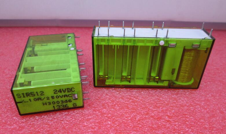 relay SIR512-24VDC SIR512 24VDC SIR51224VDC 512 24VDC DC24V 24V DIP14 50pcs ir2110 ir2110pbf dip14