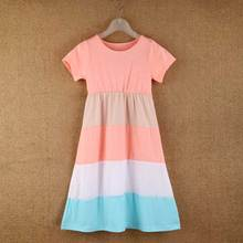 Mommy and me short sleeve summer maxi dresses