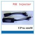 Inyector poe splitter cable adaptador rj45 poe inyector kit de alimentación de 24 v para la cámara de seguridad cctv accesorios