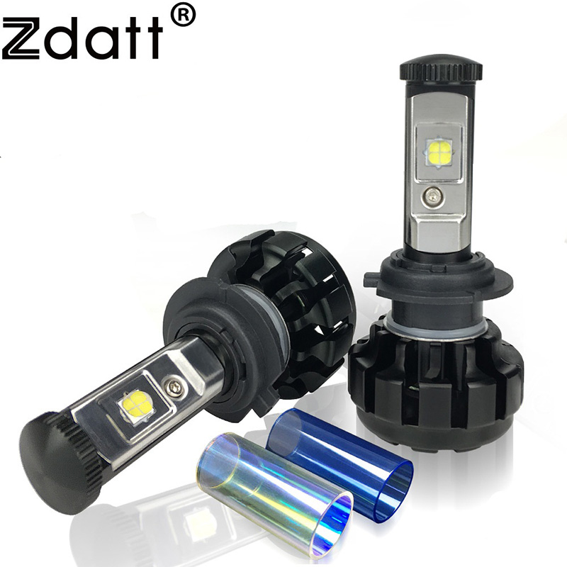 Zdatt H7 Led Bulb Canbus 12000LM 100W Headlight H4 H8 H9 H11 9005 HB3 Car Led Light 12V Fog Lamp Automobiles 3000K 6000K 8000K dls flatbox slim mini