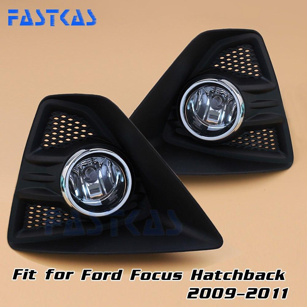 12v 55w car fog light assembly for ford focus hatchback 2009 2010 2011 front fog light