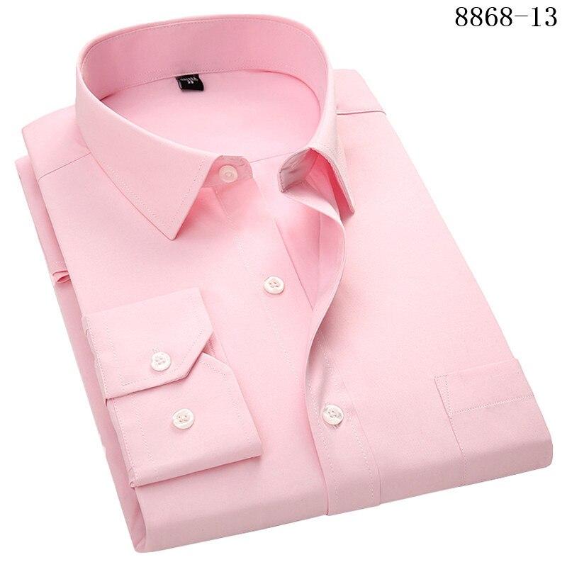 HTB1P nTXQCy2eVjSZPfq6zdgpXaP 4XL 5XL 6XL 7XL 8XL Large Size Men's Business Casual Long Sleeved Shirt White Blue Black Smart Male Social Dress Shirt Plus