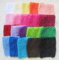 2017 Nuevos 10 Colores Los Niños Del Bebé Bebe Niña Ropa de Los Niños Recién Nacidos bebé crochet solid tube tops pecho abrigo de clothing ropa de bebe