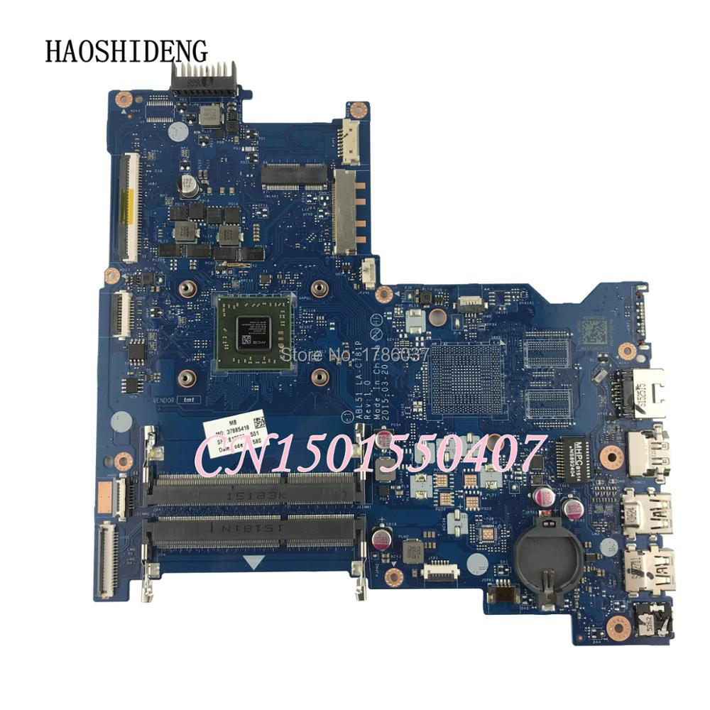 HAOSHIDENG 813969-001 813969-501 ABL51 LA-C781P for HP Notebook 15-AF Series motherboard A8-7410. 100% fully Tested ! пазл clementoni hq щенки лабрадора 1500 31976