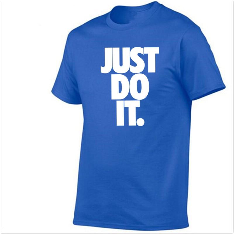 Roliga märkes-t-shirt herrar 2018 Ny mode gör det bara bokstäver - Herrkläder - Foto 5