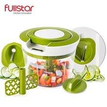 Fullstar нержавеющая сталь измельчитель еды спиральный слайсер Мощный Ручной кухонный аксессуар для кухни нож кухонный инструмент