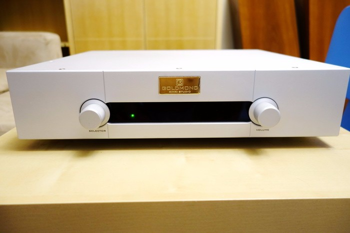 Reference Copy GOLDMUND 27+ Preamplifier Pre AMP Preamp Pre-amplifier Pre Amplifier RCA Output Real Good sound Remote Version silent wire nf reference mk3 rca 2x0 8m