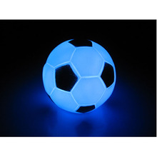 Modern Football LED Colorful Night Light Shape Light Lamp Night Party Decoration Xmas Gift K0012