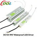 LED Driver DC12V IP67 Waterproof Lighting Transformers for Outdoor Lighs Power Supply 10W 20W 30W 45W 60W 100W 150W