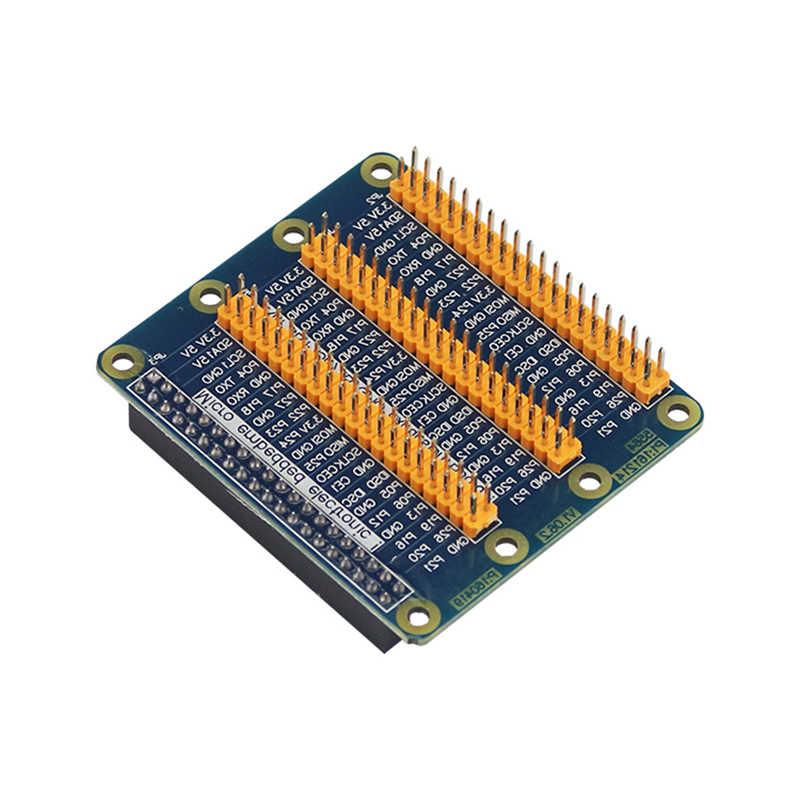 التوت بي GPIO لوحة تمديد 1 إلى 3 40 دبوس GPIO وحدة ل البرتقال بي PC التوت بي 4B/3B +/3B التوت بي الصفر W/1.3