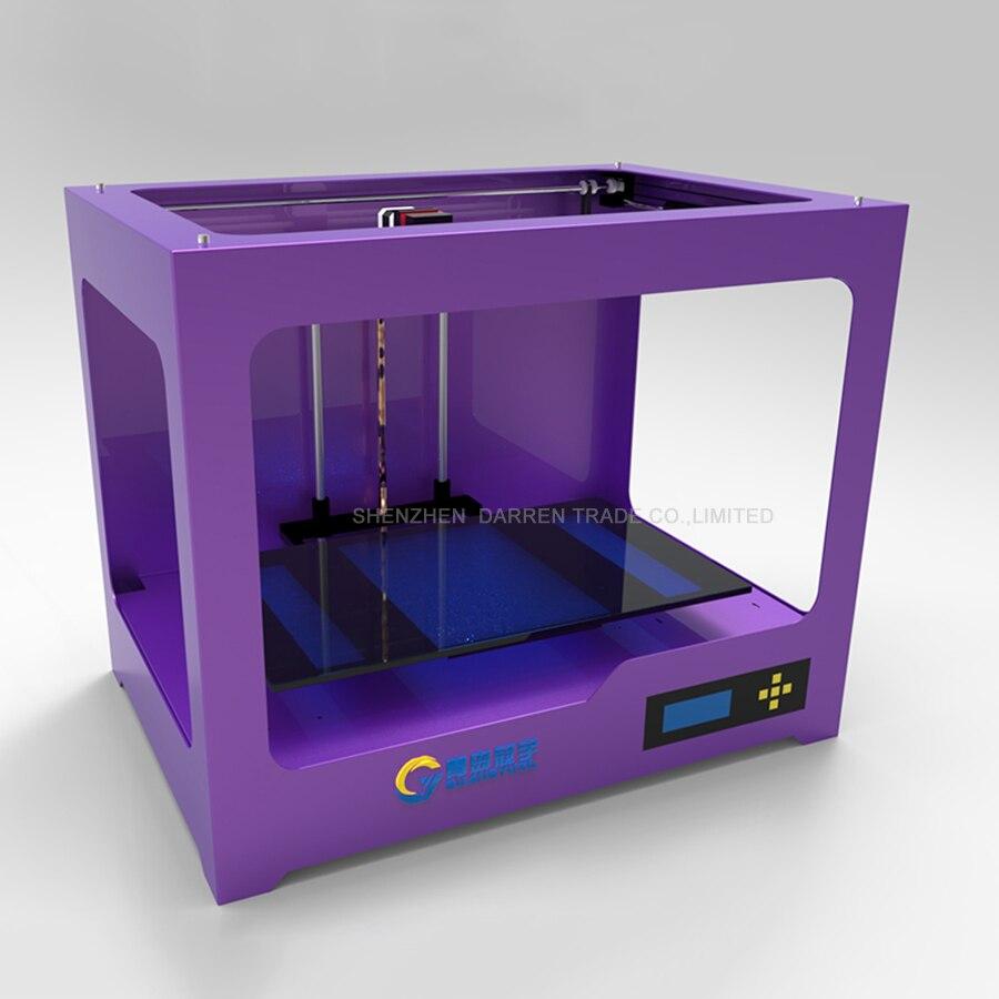 3D imprimante GY300 ABS 3D machine d'impression en trois dimensions USB port LAN port LED écran Pla imprimante