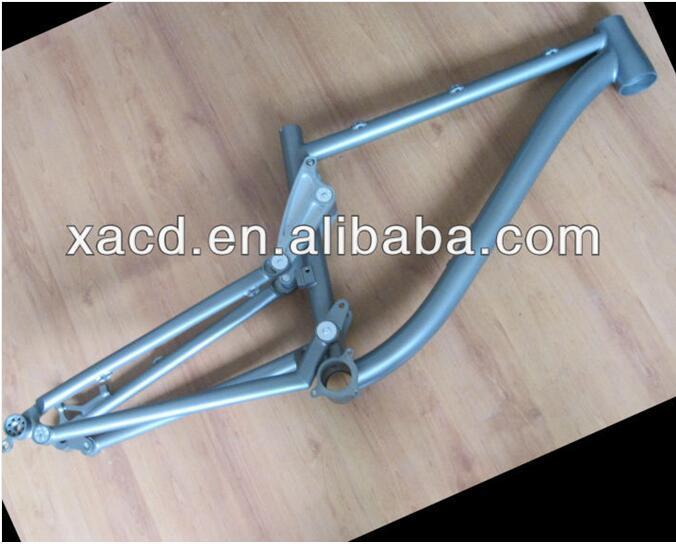 Bicycle-Frames Mtb-Suspension Custom Titanium with Taper-Head-Tube China Bike