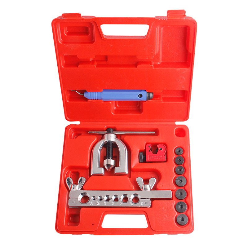 11pcs Pipe Cutter 3 16mm With Inch Tube Expander Flaring Tool Set Expansion Mouthparts Wide Hole Device Hand Tools