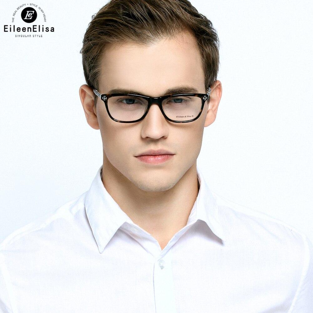ᐂEE Moda Nueva Montura de gafas Marco de Anteojos Marcos Hombres ...