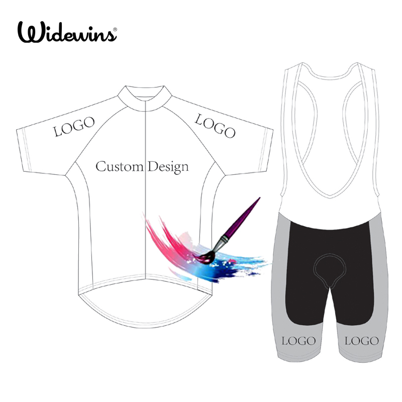 widewins Custom Cycling Jersey DIY design Your Logo Summer Short Sleeve Jersey Bike Racing Team Road Biker Cycling Sports Jersey