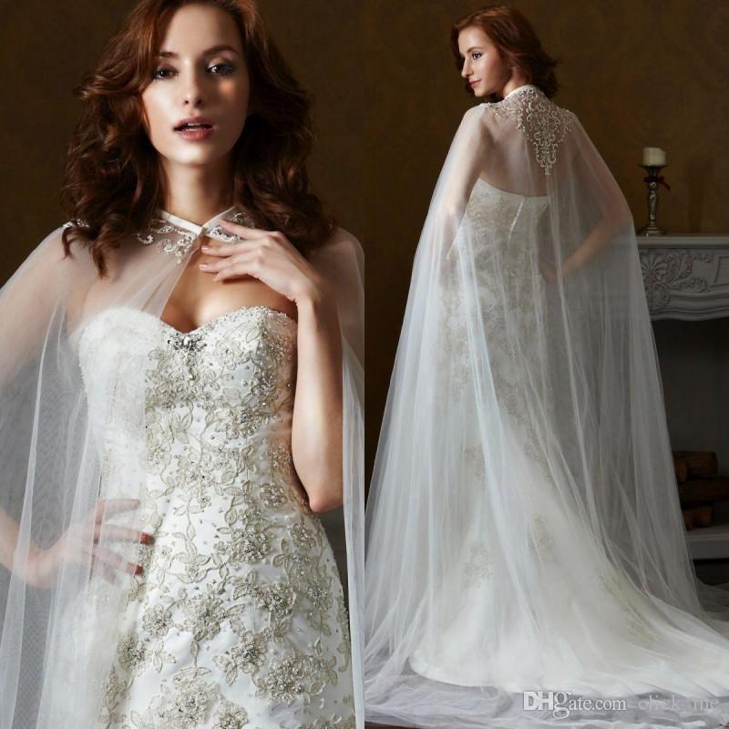 2016-New-1lace-wedding-bolero-White-Lace-Appliques-Wedding-Cloak-Cape-Beautiful-Wedding-Wrap-Bridal-Jackets