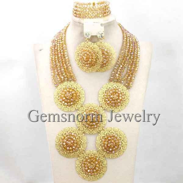 رائع الأبيض الخرز النيجيري الزفاف الأزياء والمجوهرات مجموعة الذهب والمجوهرات مجموعة الهندي العربية WB266 المجوهرات مجموعة الشحن المجاني