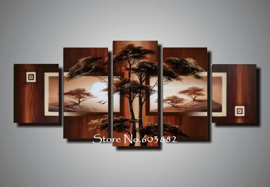 natural natural scenery 100 hand painted oil wall art 5
