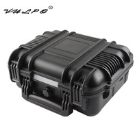 VULPO ABS Airsoft Pistol Case Tactical Hard Pistol Storage Case Gun Case Padded Hunting Accessories Gun Carry Box