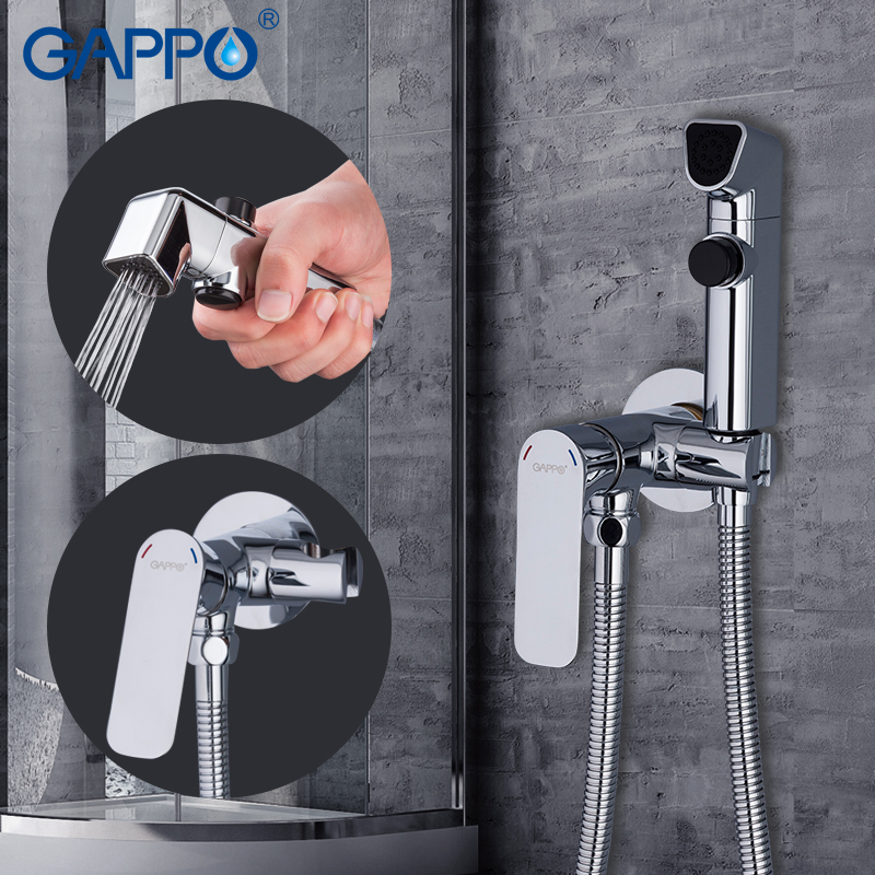 GAPPO Bidet Faucets enema shower head toilet shower bidet muslim shower toilet wall mount bidet mixer gappo bidet faucets muslim shower toilet shower bidet shower faucets bath tub mixer bidet shower set